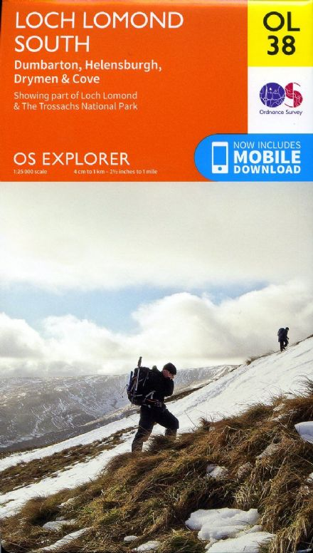 OS Explorer OL 38 Loch Lomond South